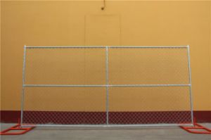 Chain Link Infill Mesh 6 Foot X 12 Foot Temporary Fencing Panels pictures & photos
