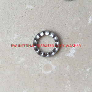 DIN6798J Internal Serrated Lock Washer pictures & photos