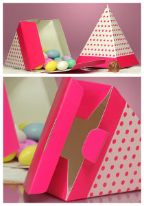 2016 New Pyramid Candy Box with Cmyk Printing pictures & photos