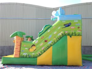 Commercial Inflatable Elephant Jungle Bouncer Slide for School and Party pictures & photos