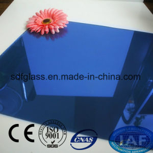 Blue Color Reflective Float Glass with Ce. ISO (4mm to 10mm) pictures & photos