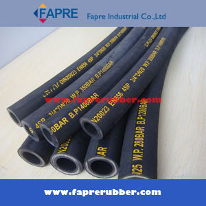 Wire Braided Rubber Hydraulic Hose pictures & photos