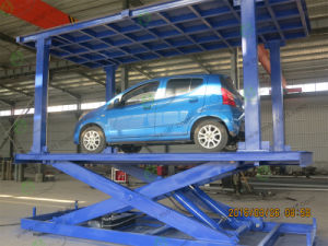 3000kg Hydraulic Parking Car Lift Elevator(SJG) pictures & photos