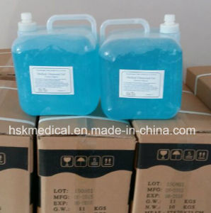 China Manafacture Water-Soluble High Ploymer Ultrasound Gel-10L pictures & photos