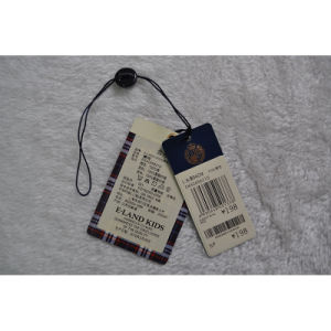 Two Pieces Hang Tags with Hanging Granul pictures & photos