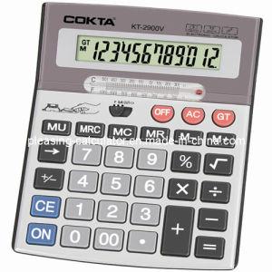 Office Desktop Calculator, 12 Digits Calculator (KT-2900V)