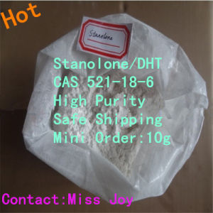 High Purity Dht Raw Steroid Powders Stanolone for Bodybuilding Hormone CAS 521-18-6 pictures & photos