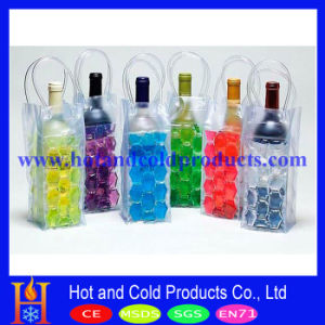 Liquid Filled PVC Cooler Bag, Ice Pack for Single Bottle (WCB-001)