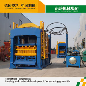 Quality Color Paving Bricks Machinery|Red Brick and Concrete Stone Machine|Refractory Brick Machinery Qt4-15 Dongyue pictures & photos