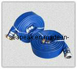 Blue PVC Discharge Hose with High Quality pictures & photos