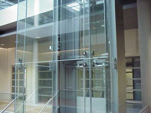 Clear or Tinted Toughened Spider Glass pictures & photos