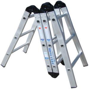 (375LBS) Aluminum Alloy Multi-Purpose Ladder pictures & photos