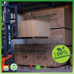 No Formaldehyde MDF Board Film Faced Plywood Laminated MDF Board pictures & photos