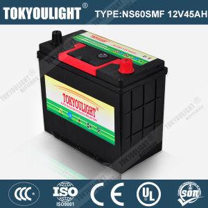 JIS Standard Mf Auto Battery with Ns60mf 12V45ah