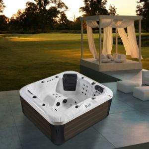 2016 New Design 4 Person Freestanding Whirlpool Massage SPA Tub (M-3391) pictures & photos