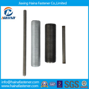 4.8 8.8 Grade Steel Stainless Steel Ss304 Ss316 ASTM A193 B8 B8m/Zinc Plated Galvanized B7/M3-M120 DIN975 DIN976 Steel Threaded Rods/Thread Rod pictures & photos