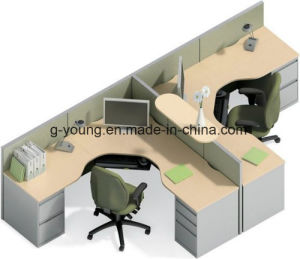 High Quality Wooden Workstation Desk Group Table Office Furniture