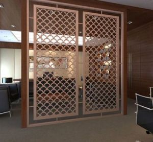Building Materials Laser Cutting Color Stainless Steel Decorative Metal Screen pictures & photos
