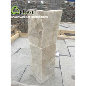 Super White Quartz Culture Stone Corner pictures & photos
