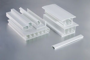 White UPVC Profiles for Windows and Doors pictures & photos