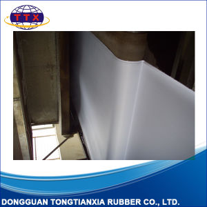 White Polyester Fabric Top Rubber Roll Material for Printing pictures & photos