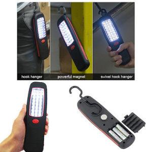 24 LED Bright Work Light Torch Swivel Hook Magnet Waterproof Inspection Light