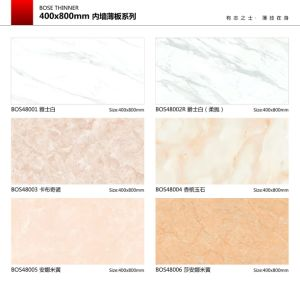 Marble Design 300X600mm 400X800mm 500X1000mm 5.5mm Thickness Lamina Porcelain Wall Tile Ceramic Tiles pictures & photos