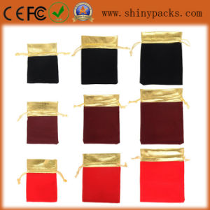 High Quality Promotion Velvet Pouch