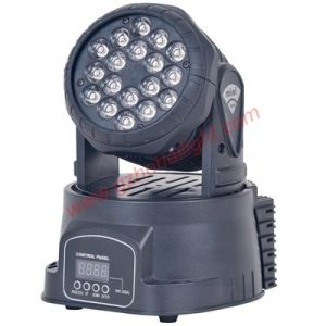 LED 18PCS* 3W RGB Beam Moving Head Stage Light