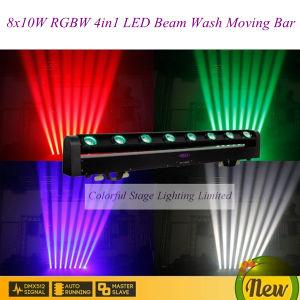 8X10W Quad Color RGBW LED Pixel Beam Light