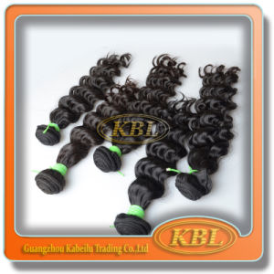 Factory Virgin Hair Extension Remy 4A Brazilian Human Hair pictures & photos