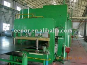 Various Rubber Product Making Machine/Automatical Rubber Hot Plate Vulcanizing Press pictures & photos