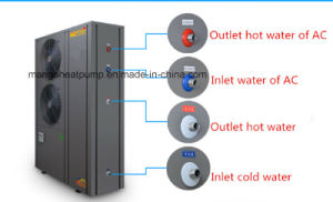 Low Temperature -25º C Air to Water Heat Pump for Floor Heating pictures & photos