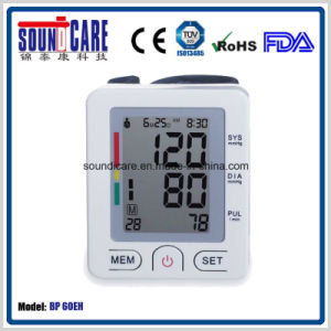 Digital Wrist Type Blood Pressure Monitor (BP 60EH) with ABS Case
