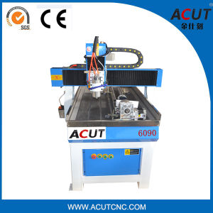 CNC Machine with 3D Rotary Attachement (Dia.: 80mm,) /CNC Router pictures & photos