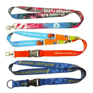 Heat Transfer Lanyard with Customer Logo Design pictures & photos