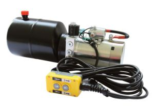 12 Volt Hydraulic Power Unit - Single Acting W/ Remote pictures & photos
