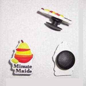 Soft PVC Rubber Shoe Decoration Buttons pictures & photos