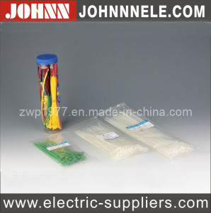 PVC Electrical Natural Ties Nylon Cable Ties (5*450) pictures & photos