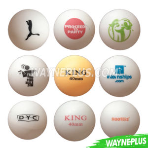 Customize Logo Printing Table Tennis Ball - Wayneplus pictures & photos