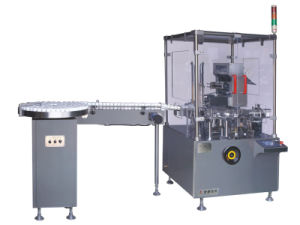Automatic Square Bottle Cartoning Machine (JDZ-120P) pictures & photos
