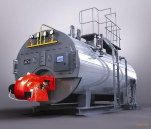 Wns Horizontal Natural Gas Fired Hot Water Boiler pictures & photos