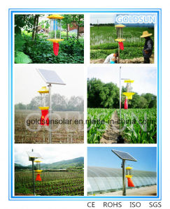 New Tech Green Solar Agriculture Insect/ Pest Control Killer Lamp pictures & photos