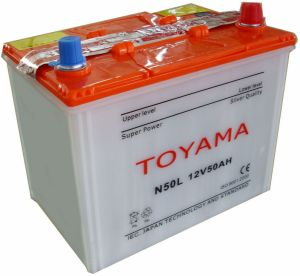 JIS Dry-Charged Car Battery (N50L) pictures & photos