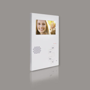 White Indoor Monitor with 4.3′′ LCD Screen pictures & photos