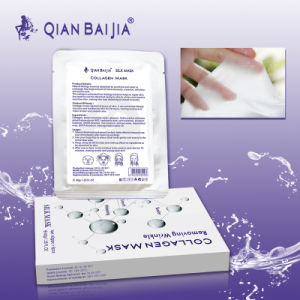 QBEKA Collagen Facial Mask Face Lift Facial Mask Natural Silk Facial Mask pictures & photos