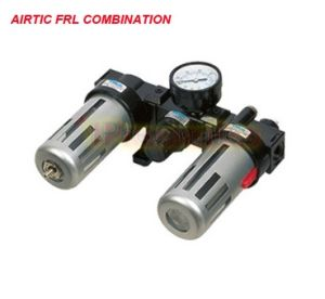 Pneumatic Frl Unit Airtac Type Air Filter Regulator W Lubricator