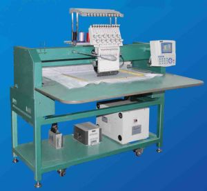 Single Head Flat/Cap/Tubular Computerized Embroidery Machine