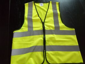 Road Maintenance Worker′s Safety Vest From Guangzhou Supplier pictures & photos