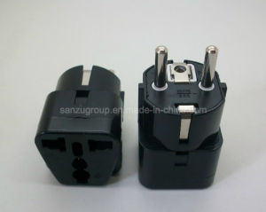 Universal Au Us UK to EU AC Power Plug Adapter pictures & photos